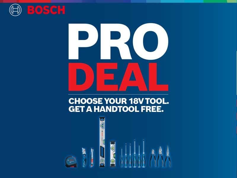 Bosch Pro Deals