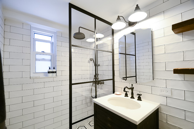 Black & White Bathroom