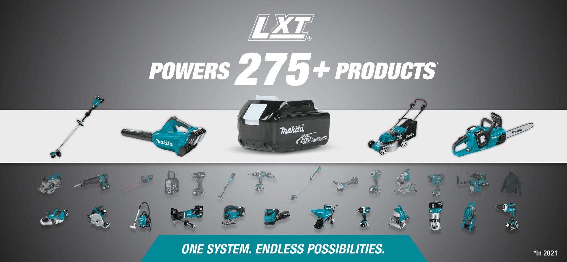Makita 18v LXT System