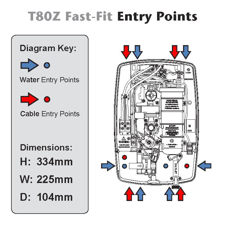 Triton T80Z Technical Diagram