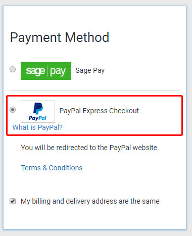 Buyaparcel Finance - Paypal Credit