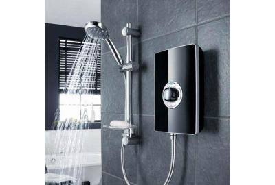 Slim and Sleek Triton Aspirante Electric Shower
