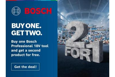 Bosch PRO 360 Deals - Discover The 2 For 1 Bosch Pro Deals Promo