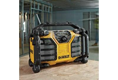 Buyaparcel Make A Noise About Dewalt's New Job Site Radios
