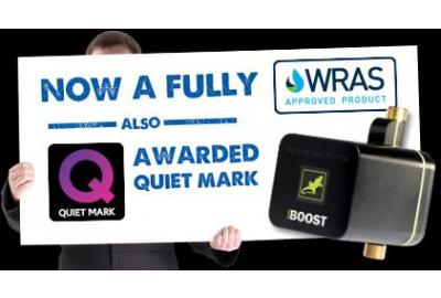 Salamander's Homeboost Pump Is Awarded Coveted Quiet Mark!