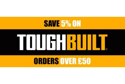 5% Off Toughbuilt Orders Over £50 At Buyaparcel