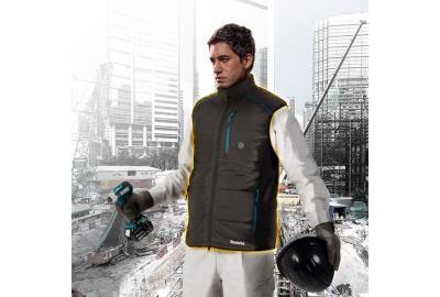 Keep Warm On the Jobsite With Makita Heated Jackets