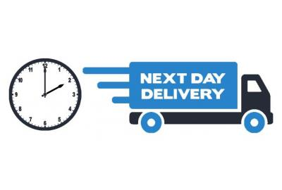 Next Day Delivery Now Extended!