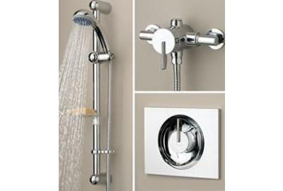Mixer Showers Offer Safer & More Economical Showering with Higher Flow Rates