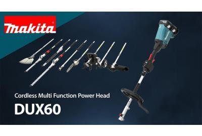 Ultimate Versatility With Makita DUX60 Multi Tool