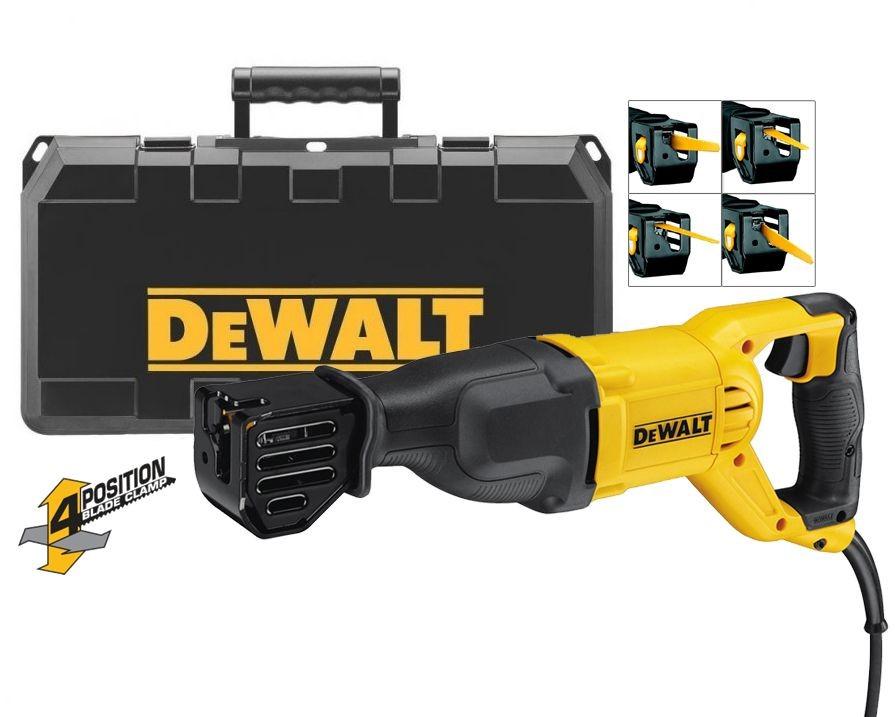 Dewalt DWE305PK Reciprocating Saw 110v 1100W Recip 110v Corded RP DW304PK