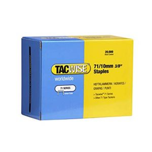 Tacwise 0369 Type 71 Box of 20,000 Staples 10mm 71 Series ideal for upholstery applications