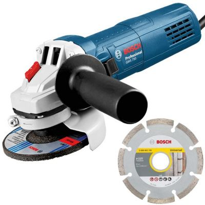 Bosch GWS750 240v Professional Corded Angle Grinder 115mm 4.5