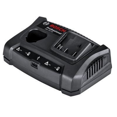 Bosch GAX 18 V-30 12v 18v Dual Charging Bay Charger With USB Port 1600A011AA