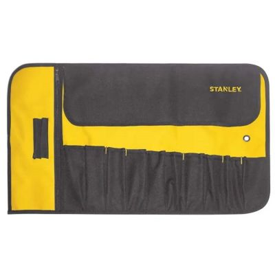 Stanley 12 Pocket Tool Roll STA193601 Strong Fabric 1-93-601 Compact