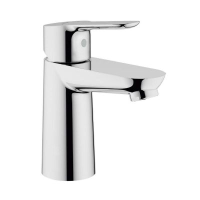Grohe 23330 BauEdge Single Lever Mono Basin Mixer Tap 1/2 Inch Smooth Body
