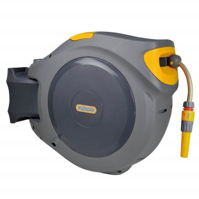 Hozelock 40m Auto Reel Retractable Hose System Wall Mounted 2595