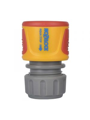 Hozelock 2055 2075 Spft Touch Aqua Stop Plus Waterstop Hose Pipe Connector 1/2in