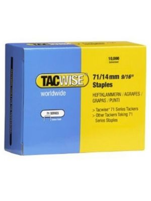 Tacwise 0371 Type 71 Box of 10,000 Staples 14mm 71 Series ideal for upholstery applications