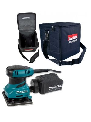 "Makita BO4556 1/4"" Sheet Palm Sander 240V Clamp System with Cube Bag"