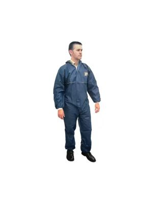 Scan Disposable Overall Coverall Triple Stitched Double Zipped Medium SCAWWDOM
