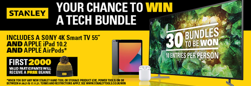 Stanley Tech Prize Giveaway