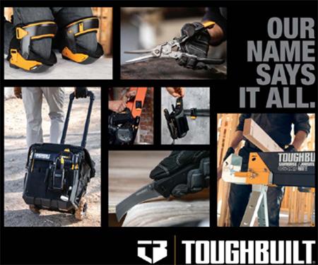 Toughbuilt Product Range